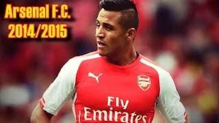 getlinkyoutube.com-Алексис Санчес - Финты и голы за Арсенал 2014 / 2015