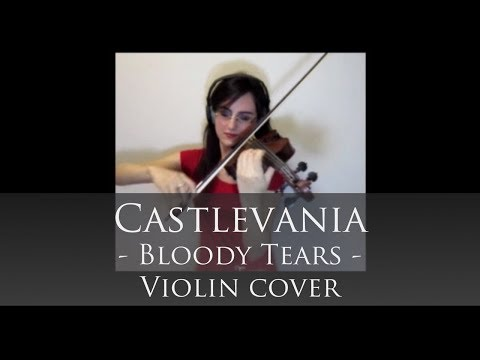 Bloody Tears - Castlevania - dAGh (all4violin channel)