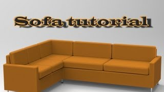 getlinkyoutube.com-SketchUp sofa tutorial