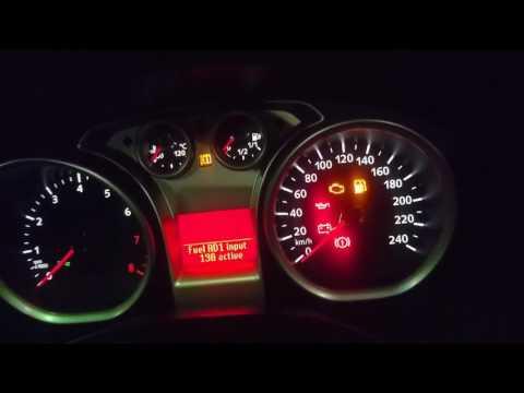 Форд фокус 2 заправка и показание БК уровня топлива