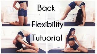 getlinkyoutube.com-Back Stretches flexibility TUTORIAL!!!!!!!