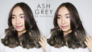 getlinkyoutube.com-D.I.Y ash grey hair on a budget