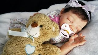 getlinkyoutube.com-Reborn baby Lourdes 2 // Bebé Reborn Lourdes 2 por Chiquitines Reborns