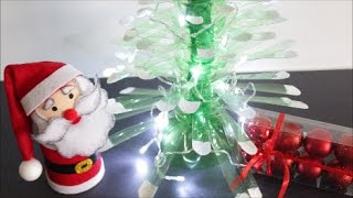 getlinkyoutube.com-DIY Christmas Crafts Ideas Plastic Bottles Christmas Tree|Best out of Waste|Recycled Bottles Crafts