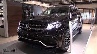 getlinkyoutube.com-Mercedes-Benz GLS63 AMG 2016 GLS Class Start Up, Full In Depth Review Interior Exterior