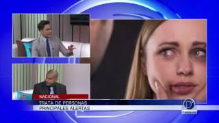 Alex Olivares explica la problemática de la trata de personas a nivel nacional