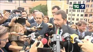 9 ottobre 2015 AM, Tele Giornale Italia, TG News, Titoli, La7