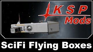 getlinkyoutube.com-KSP Mods - LLL Sci-Fi Flying Boxes