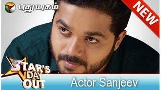Actor Sanjeev in Stars Dayout (21/06/2014) - Part 1