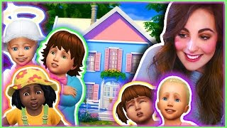 getlinkyoutube.com-The Sims 4 l TODDLERS CAS + Gameplay