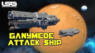 getlinkyoutube.com-Space Engineers - Ganymede Class Attack Ship