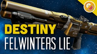 getlinkyoutube.com-DESTINY Felwinter's Lie Fully Upgraded Legendary Review (Iron Banner Shotgun)