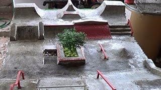 getlinkyoutube.com-fingerboard concrete park - JONNY MOREIRA