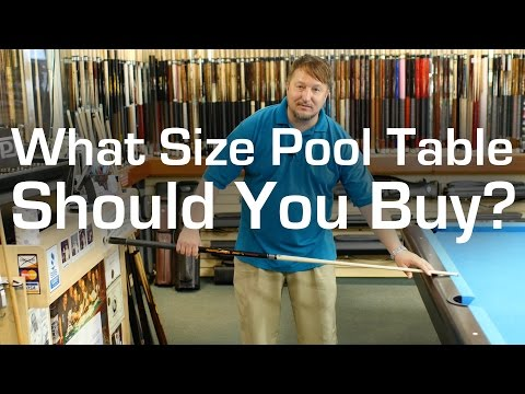 What Size Pool Table Should You Buy?