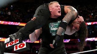 getlinkyoutube.com-Top 10 Raw moments: WWE Top 10, January 11, 2016