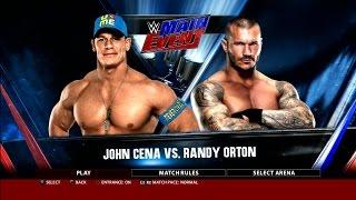 getlinkyoutube.com-WWE 2K16 John Cena Vs. Randy Orton Main Event Gameplay