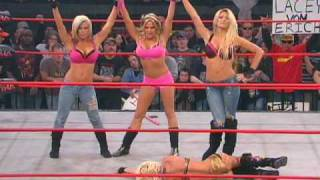 The Beautiful People Attack Angelina Love