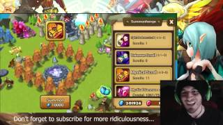 getlinkyoutube.com-SUMMONERS WAR : EPIC TRICK!!! 11 Mystical Scrolls for 200 crystals. Better than Premium pack.