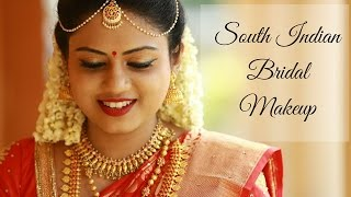 getlinkyoutube.com-South Indian Bridal Makeup Tutorial | Ria Rajendran