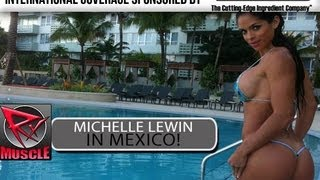 getlinkyoutube.com-Michelle Lewin In Mexico! Interview!