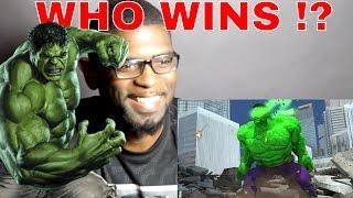 getlinkyoutube.com-HULK VS DOOMSDAY DEATH BATTLE FIGHT REACTION !!