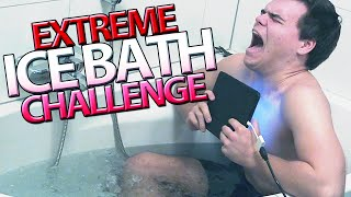 getlinkyoutube.com-EXTREME ICE BATH CHALLENGE!