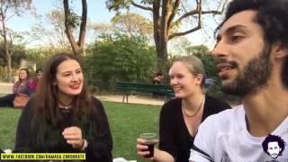 getlinkyoutube.com-Hamada Chroukate: Vlog01  مغربي يسال اجنبيات : هل تقبلن الزواج برجل لا يملك المال ؟