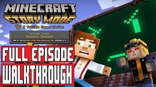 Minecraft Story Mode Episode 7 Gameplay Walkthrough Part 1 FULL EPISODE / FULL GAME No Commentary