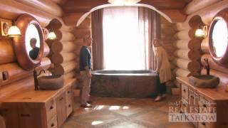 getlinkyoutube.com-RealEstateTalkShow visits Hirsh Log Homes
