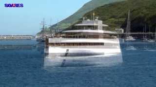 getlinkyoutube.com-Steve Jobs Yacht Venus - Horta, Azores