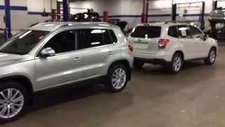 getlinkyoutube.com-Subaru Forester Premium vs Volkswagen Tiguan SE 4Motion