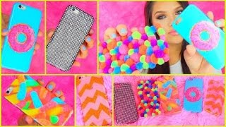 getlinkyoutube.com-DIY Tumblr Inspired Phone Cases! (Gummy Worms, Donuts & More)