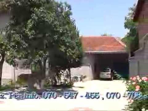 Shiten dy shtepi ne fshatin Çerkez