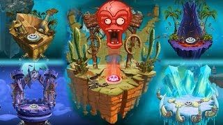 getlinkyoutube.com-Plants vs Zombies 2 - New Zomboss Podiums Changed