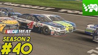 getlinkyoutube.com-Las Dega - NASCAR Heat Evolution Career Mode S2 Ep. 40