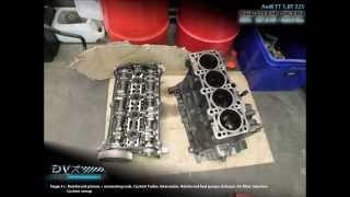 Audi TT 1.8T 225: Stage 3+ 387,8 HP / 469,0 Nm @ DVX Performance Belgium