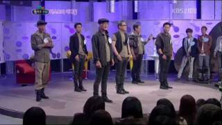 getlinkyoutube.com-Cute B2ST's dads dancing to FICTION together (cut) [HD] @ win win