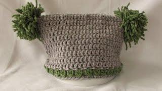 getlinkyoutube.com-VERY EASY crochet jester / square hat tutorial - all baby / child's sizes