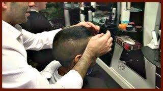getlinkyoutube.com-✄ Barber Tutorials 9 - N 1 on Sides/Back + Scissors on Top