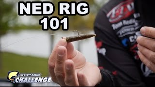 The Ned Rig - Special Bass Fishing Technique - How to rig it and fish it