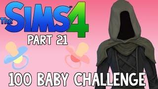 getlinkyoutube.com-The Sims 4: 100 Baby Challenge - Grim Reaper Woohoo (Part 21)