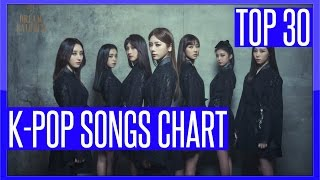getlinkyoutube.com-K-VILLE'S [TOP 30] K-POP SONGS CHART - JANUARY 2017 (WEEK 3)