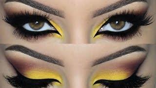getlinkyoutube.com-♡ Colorful Smokey Eye ♡ Make Up Tutorial ♡