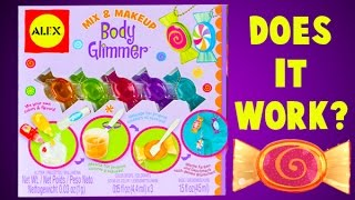 How to Make Body Shimmer with this Body Glimmer DIY Kit