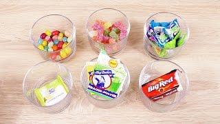 getlinkyoutube.com-Super SAURE Candy Challenge mit Kathi & Eva | mit 6 sauren & scharfen Süßigkeiten | Lecker bis eklig