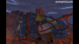 getlinkyoutube.com-Escena Graciosa de ''Shrek 1''- No le tengas miedo al puente