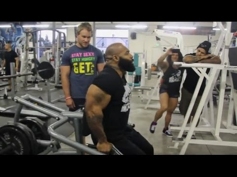 INSANE 180 Rep Triceps Workout with CT Fletcher and Big J! | Furious Pete