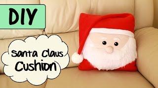 getlinkyoutube.com-DIY Santa Claus Cushion   CHRISTMAS DIY