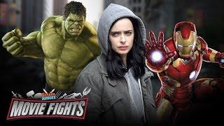 getlinkyoutube.com-Jessica Jones & MCU Team Up?! - MOVIE FIGHTS!