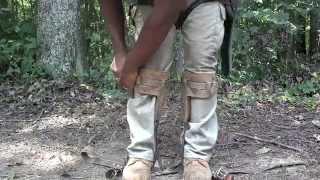 getlinkyoutube.com-How To Use Tree Climbing Spikes or Tree Spurs for Climbing Arborist, Tree Men, Tree Women and All